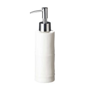 amenities bamboo bathroom soap dispenser spa