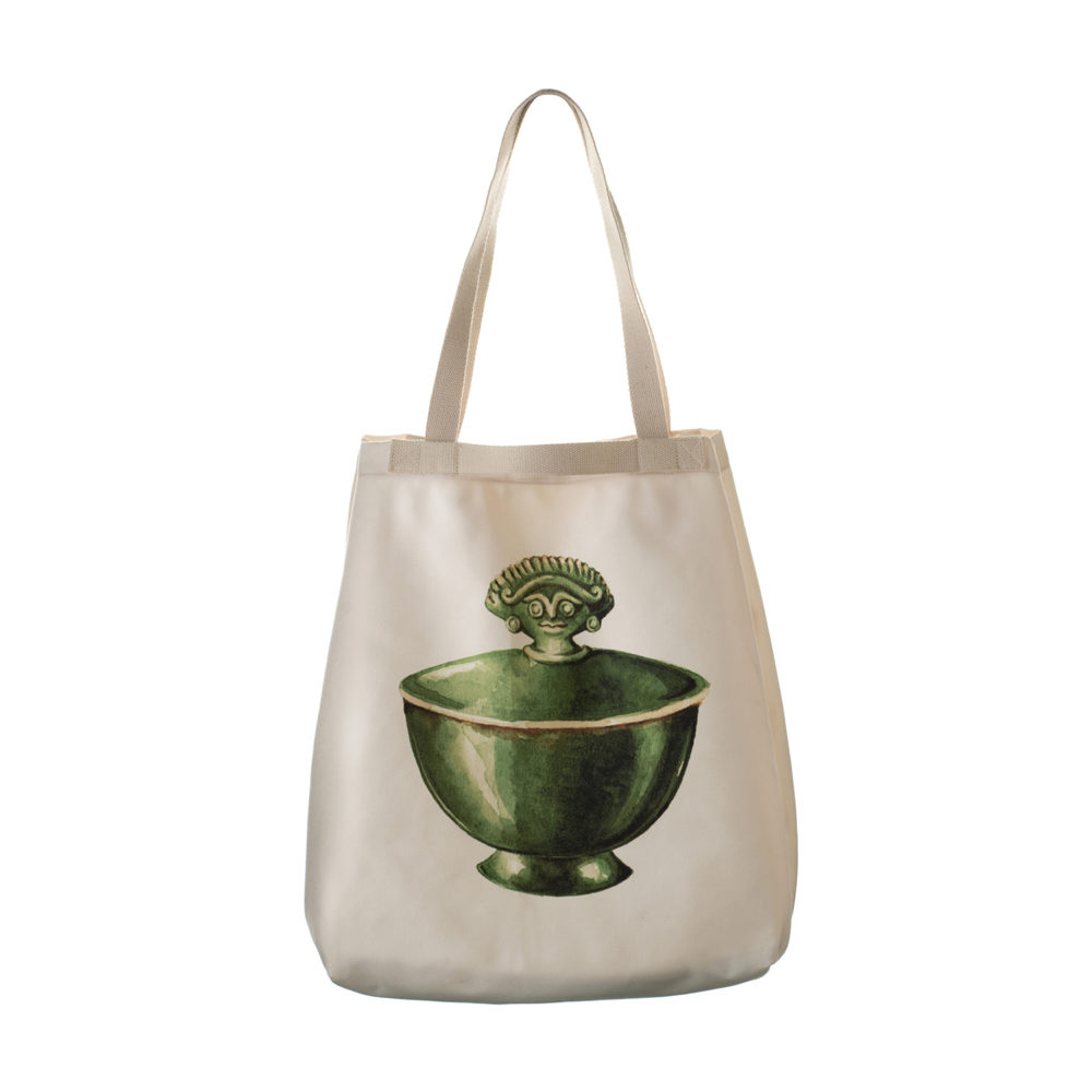 Tote Bag Cili Bowl Motif
