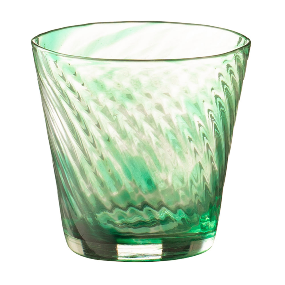 Tapered Glass Short Spiral