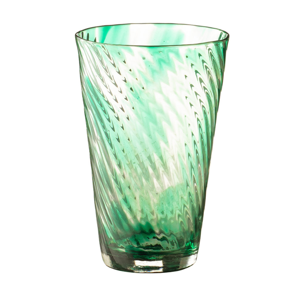 Tapered Glass Tall Spiral