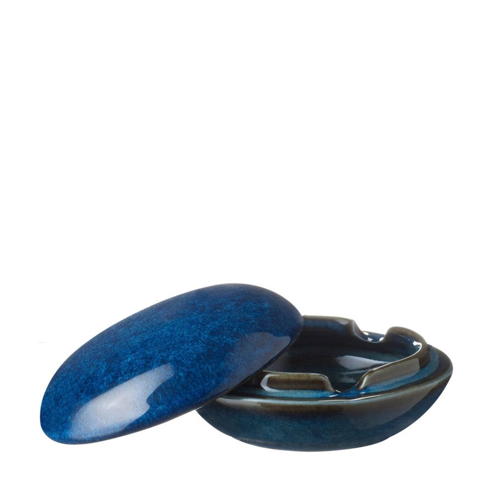 Round Ashtray With Cover