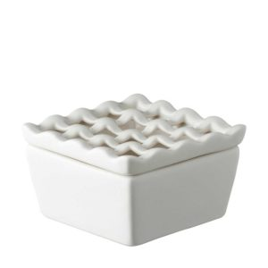 ashtray ceramic jenggala large square ashtray square