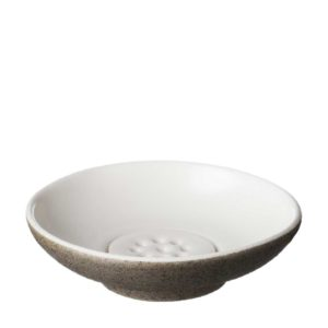 dish jenggala soap soap dish timberline white