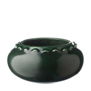 emerald green jamies jenggala vase wave wave vase wave vase medium