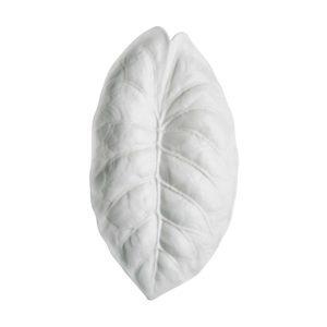 cream kahala jenggala leaf leaf plate plate