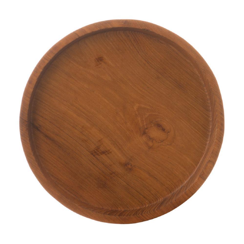 Wooden Round Tray