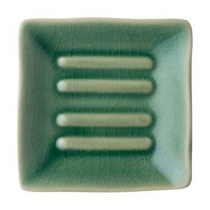 classic classic soap dish green crackle jenggala soap dish