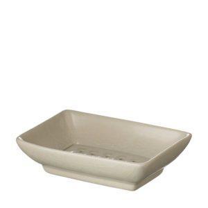 jenggala soap dish square square soap dish white crackle