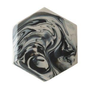 coaster hexagonal jenggala marble marble hexagonal coaster