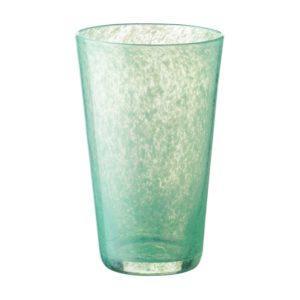 glassware tapered glass water glass