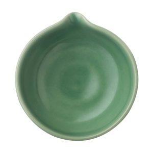 dark green gloss jenggala sauce dish