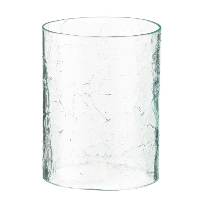 Glass Candle Holder H:3 CM D:11 CM