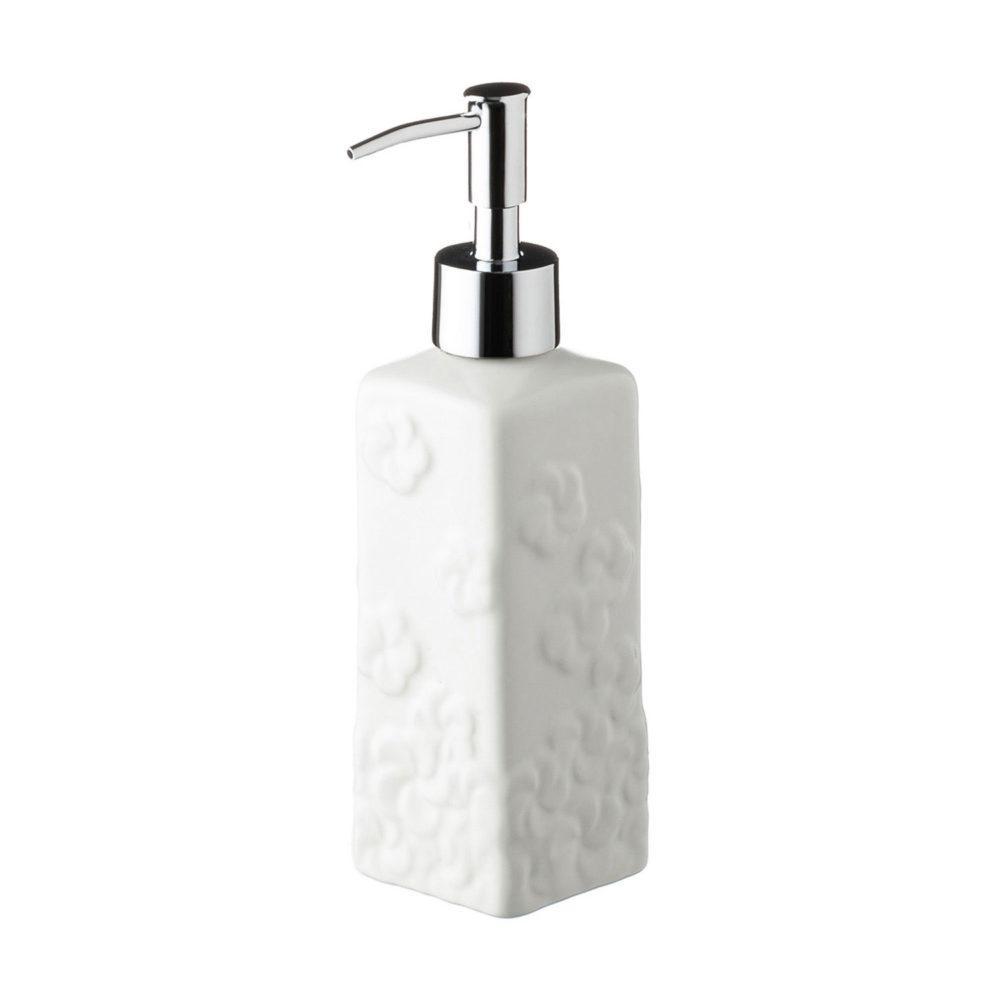 Frangipani Square Soap Dispenser