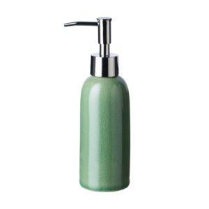 classic classic soap dispenser green crackle jenggala soap dispenser