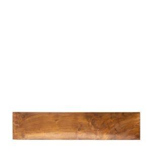 jenggala long tray natural teakwood serving plates wooden