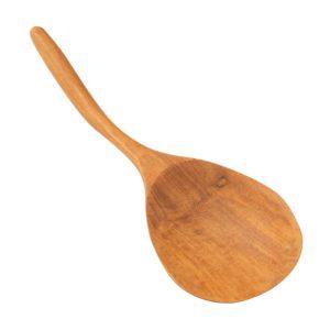 rice spoon teak wood wooden