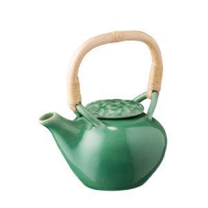 dark green gloss frangipani inacraft award frangipani jenggala small teapot teapot