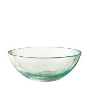 jenggala medium bowl glass crackle