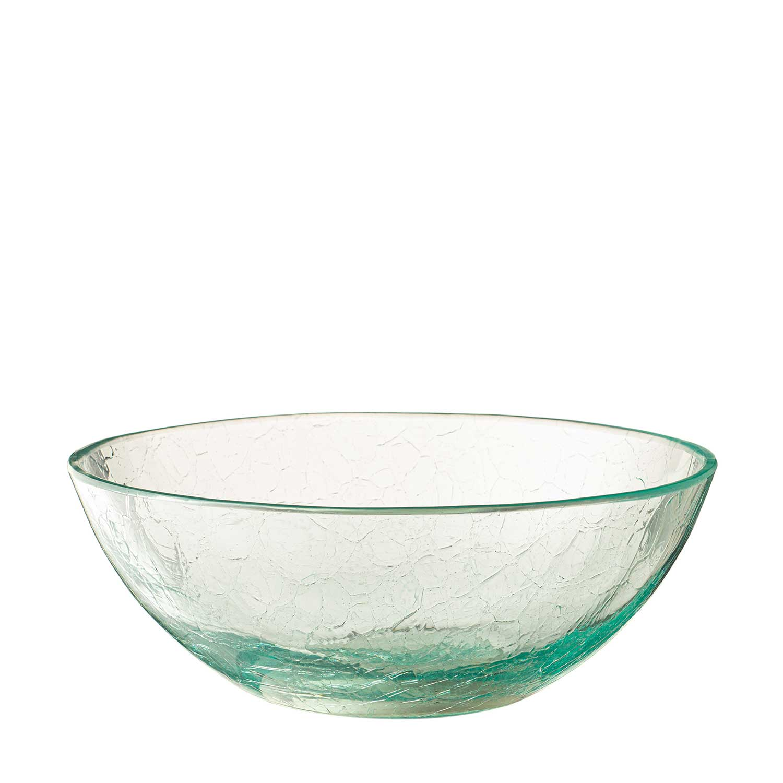 Bowl Glass Crackle