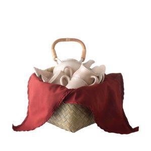 frangipani jenggala small frangipani tea set tea set