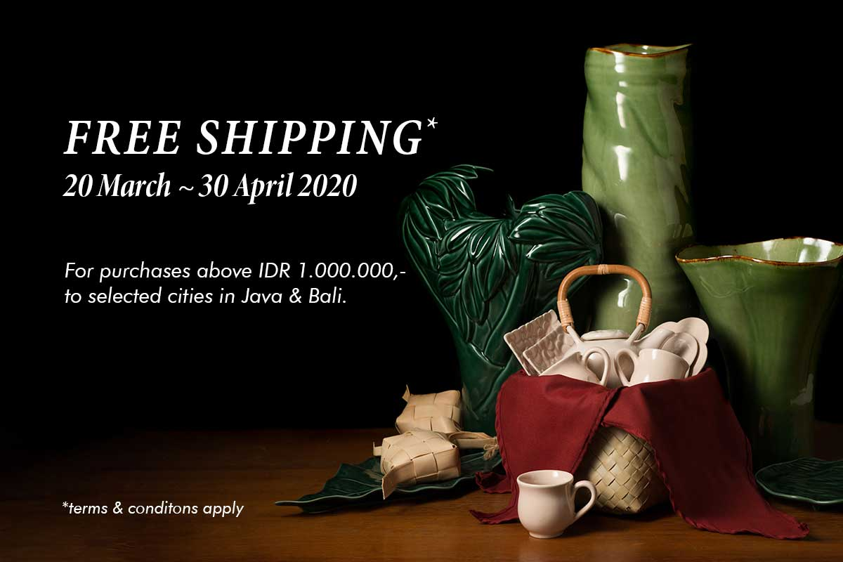 Free Shipping March - April 2020