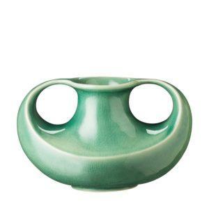 flower vase green crackle jenggala medium medium flower vase vase