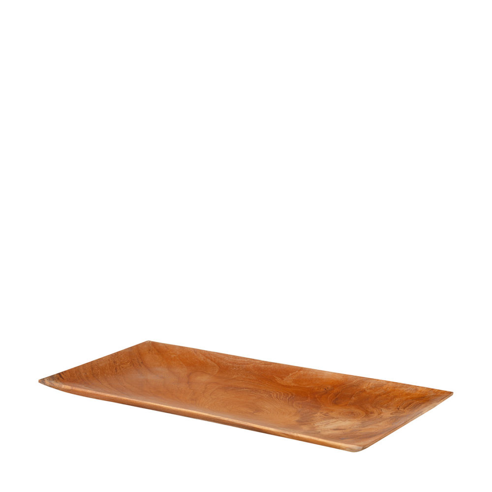 Large Wooden Rectangular Plate