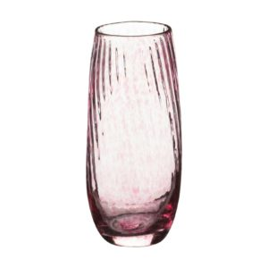 flower vase glassware jenggala spiral short vase