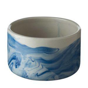 ceramic food storage jar jenggala marbling