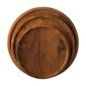 round tray tray tray set wooden wooden tray