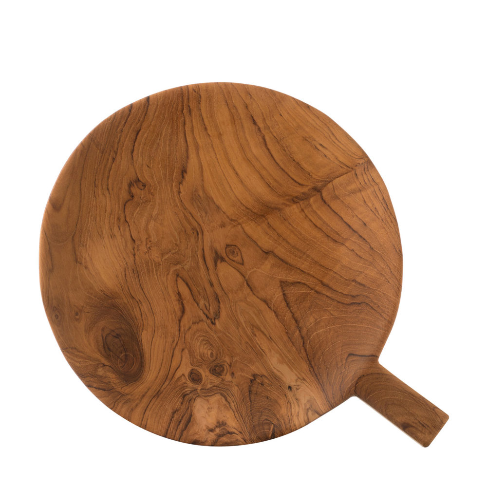 Wooden Tray With Handle