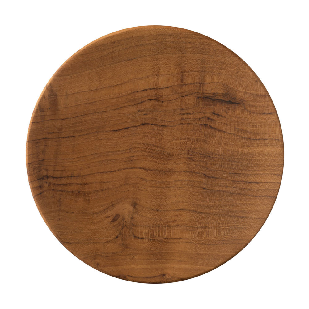 Wooden Round Plate