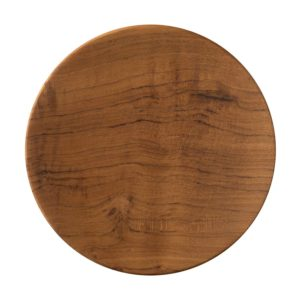 bread and butter plate round plate wooden plate