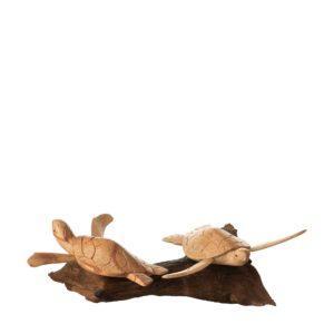 decorative jenggala roots turtle