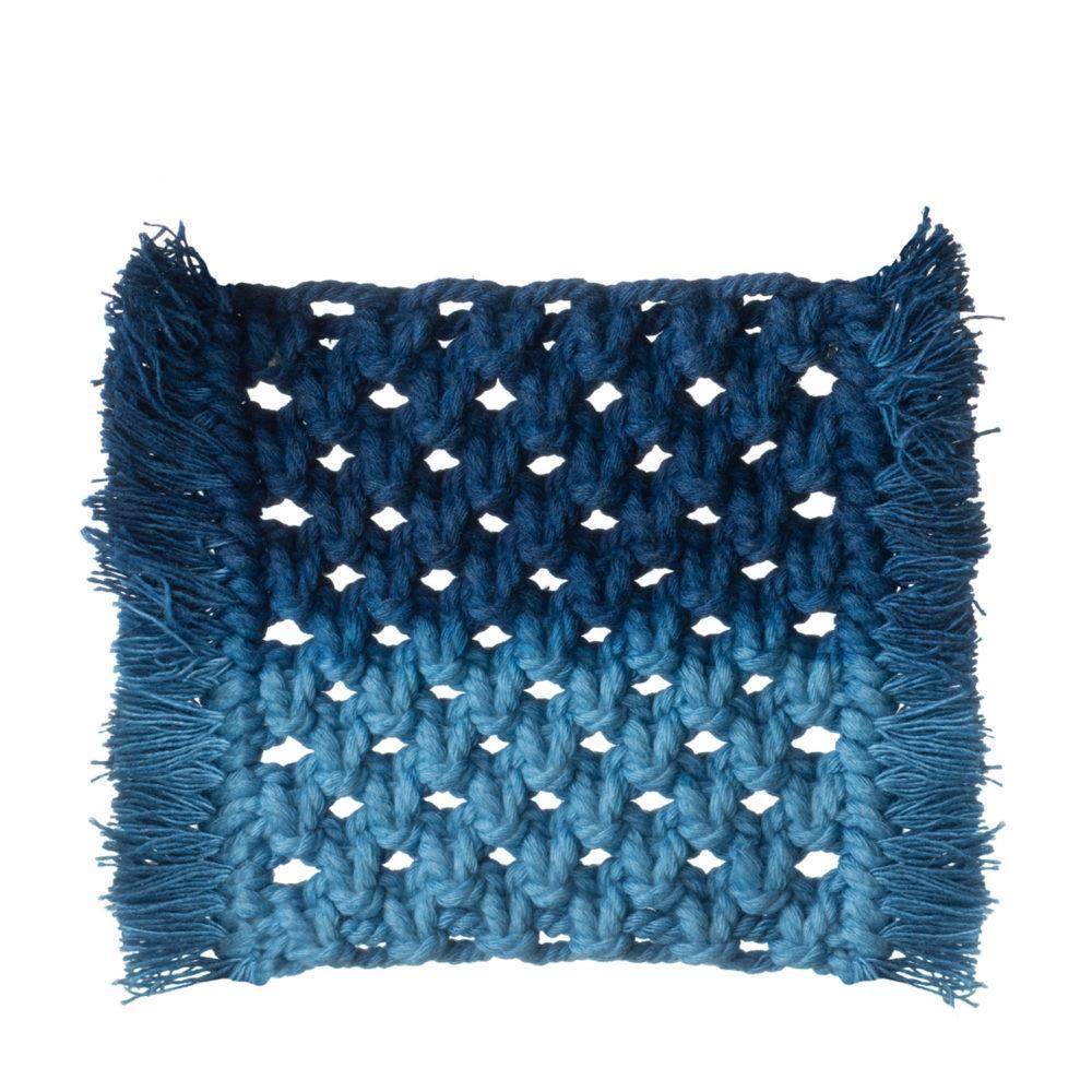 Blue coaster