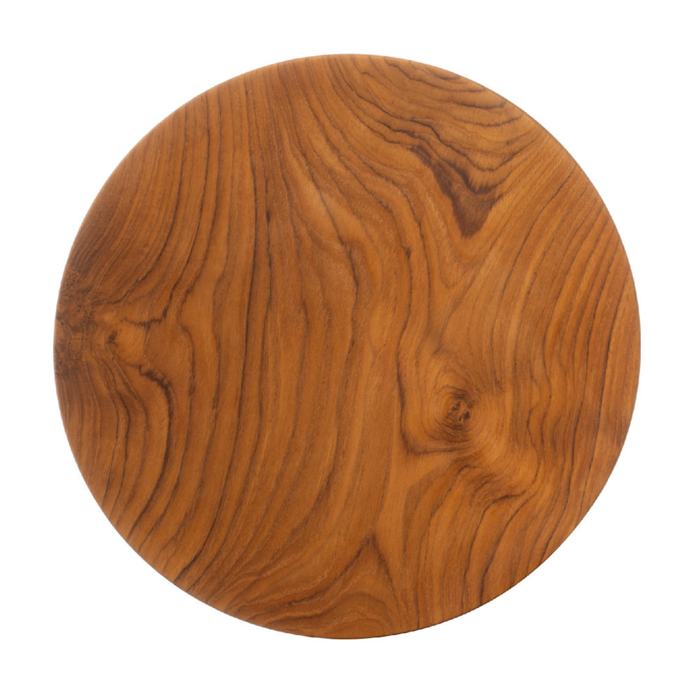 Wooden Round Tray Plate