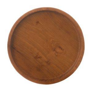 round tray tray wooden wooden tray