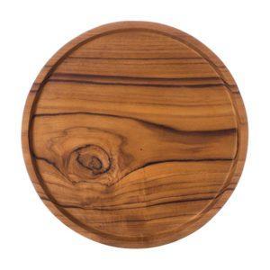 round tray tray wooden