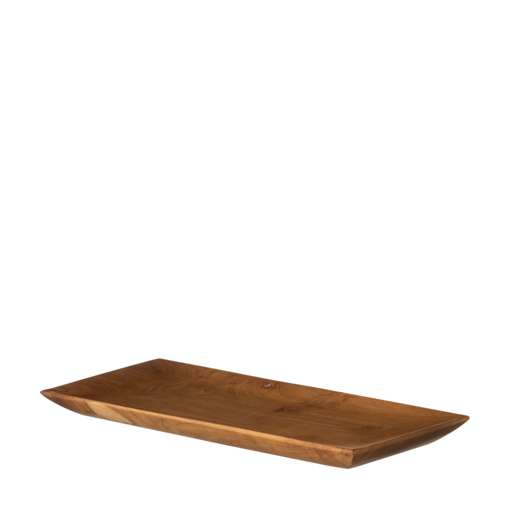 Small Wooden Rectangular Plate