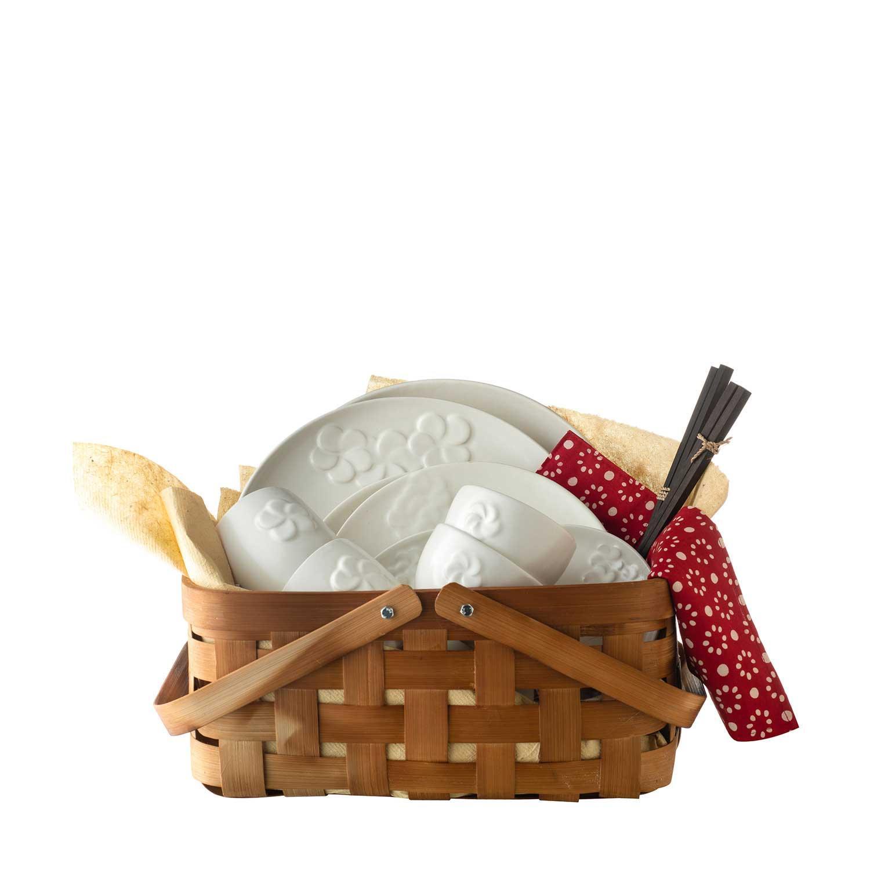 fragipani dinner set