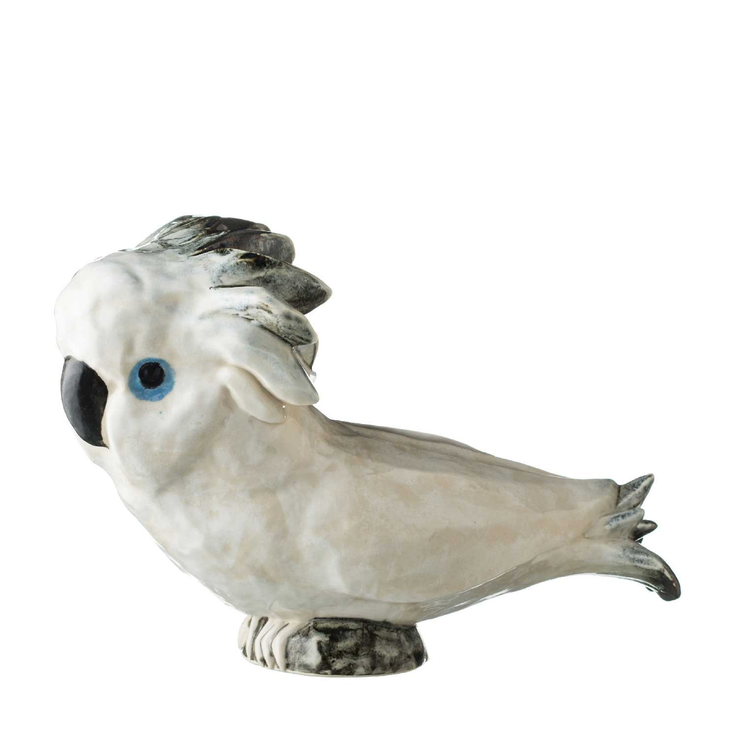 cockatoo statue