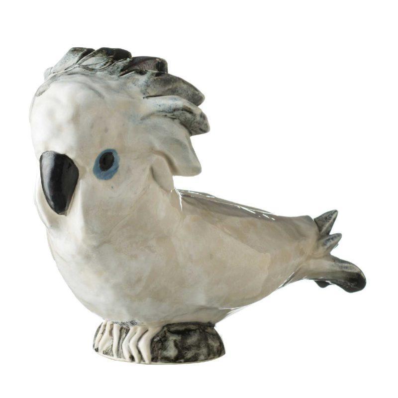 cockatoo statue