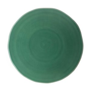 classic round serving plate