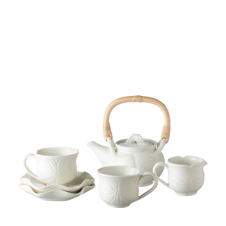 Small Lotus Tea Set