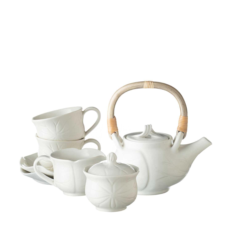 medium lotus tea set
