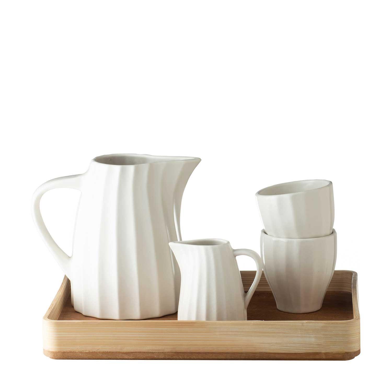 scallop jug set