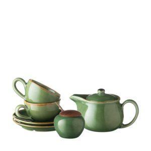 classic collection classic round tea set