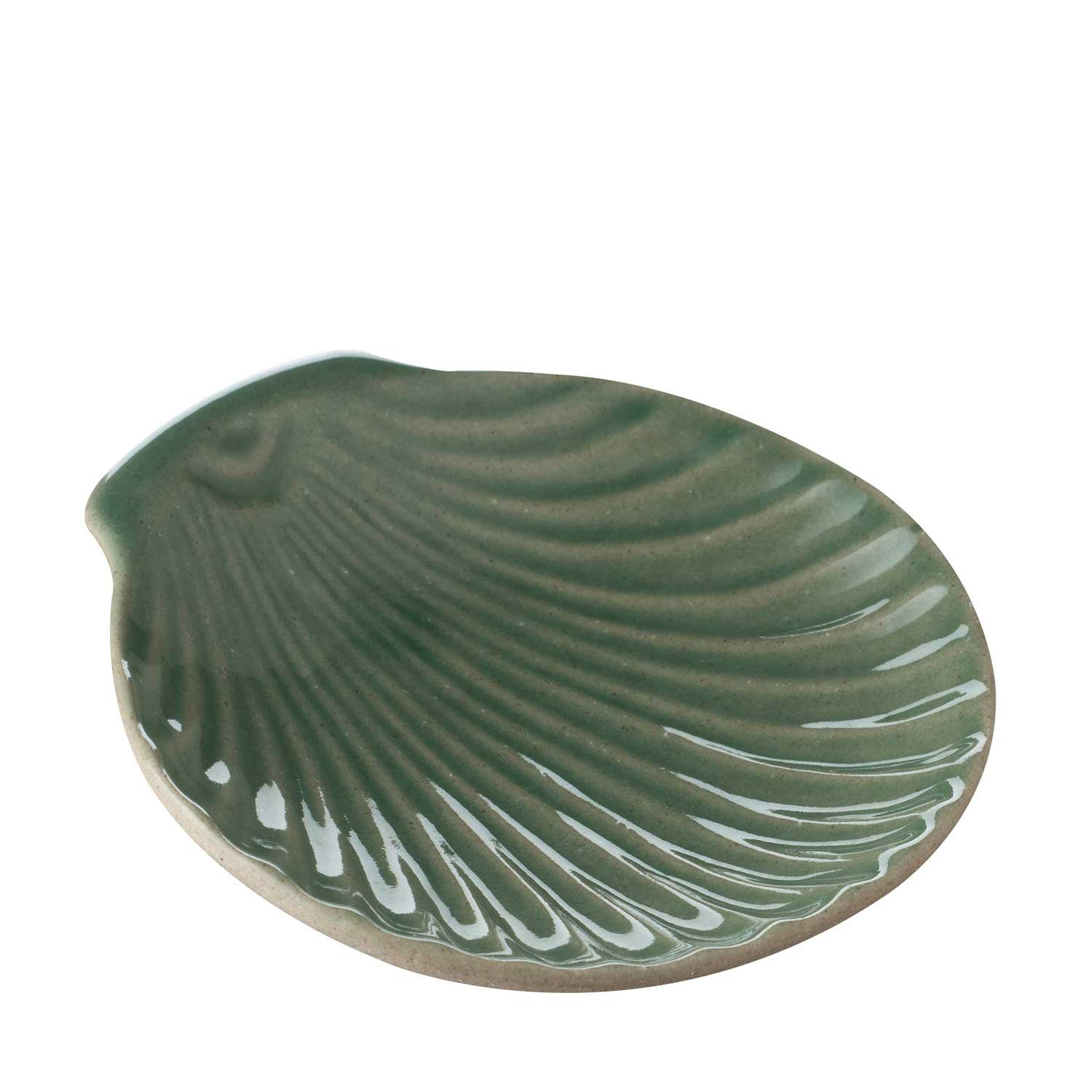 shell soap dish