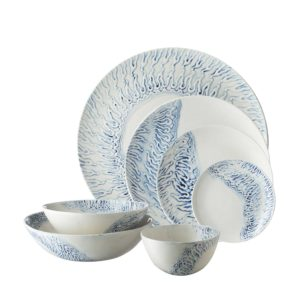 batik collection dining dinner set soup bowl