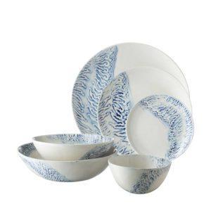 batik collection dining dinner set soup bowl